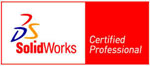 InHand is Solidworks Certified Professional