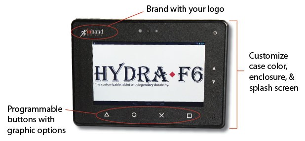 Custom Rugged Tablet